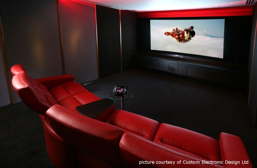 Designed Home Cinema Interior